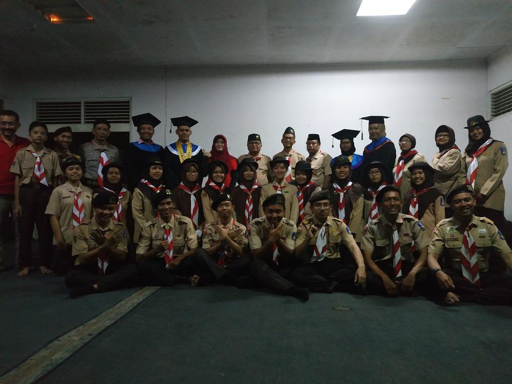 Pelantikan Purnacisya Racana Diponegoro