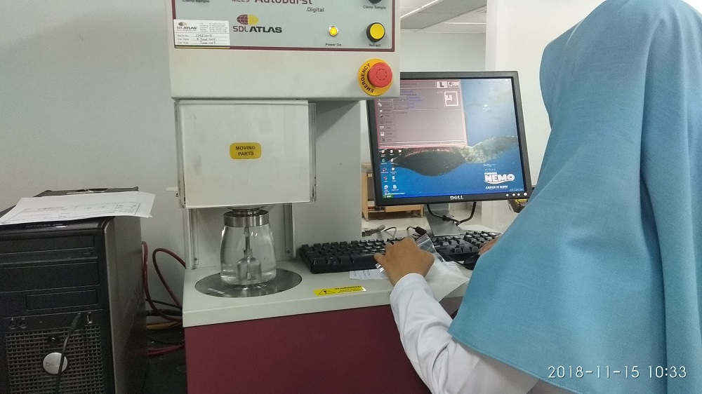 alat uji penelitian di BBT Bandung