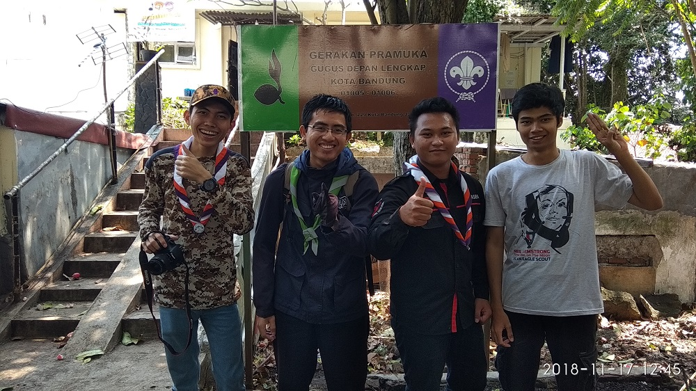 Pamitan dengan teman-teman dari UPI Bandung